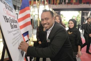 Limkokwing University Welcomed FELDA Representative