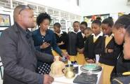 Junior Achievement National Champions awed by Limkokwing Swaziland Student Projects